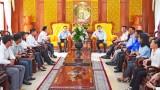 Bí thư Tỉnh ủy gặp gỡ Đoàn đại biểu dự Đại hội Đoàn toàn quốc lần thứ XI