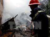 Hà Nội: Giải cứu 4 người mắc kẹt trong vụ cháy tại phố Thái Hà