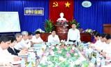 Ủy ban Trung ương MTTQ Việt Nam kiểm tra công tác Mặt trận huyện Cần Đước năm 2017
