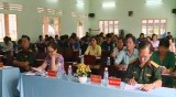 Ban CHQS, Huyện đoàn và Hội LHPN huyện Châu Thành tổng kết chương trình phối hợp