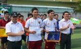 Đoàn Thanh niên xã Nhựt Chánh vô địch giải bóng đá các tổ chức cơ sở đoàn