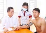 Cần Đước khám sức khỏe thanh niên đủ điều kiện thi hành nghĩa vụ quân sự năm 2018