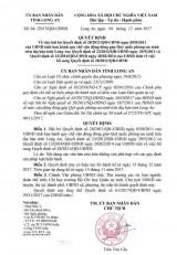 Quyết định về việc bãi bỏ Quyết định số 28/2011/QĐ-UBND ngày 05/8/2011