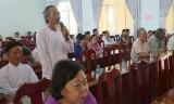 Cử tri huyện Châu Thành: Cần tăng cường kiểm tra các đại lý vật tư nông nghiệp