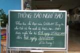 Các trường học chủ động phòng, chống bão Tembin