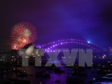Nhiều nơi trên thế giới bắt đầu chào đón Năm mới 2018