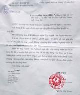 UBND huyện Châu Thành trả lời đơn khiếu nại của ông Huỳnh Hữu Nghĩa