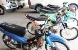 Xử lý 6 xe môtô bị thay đổi đặc tính