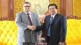 Đại sứ Phần Lan thăm và làm việc tại Long An