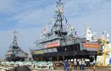 Hạ thủy hai tàu tuần tra cao tốc