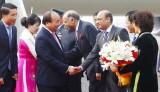 Thủ tướng đến New Delhi, bắt đầu dự Hội nghị Cấp cao ASEAN-Ấn Độ