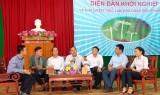 Tân Thạnh: Diễn đàn khởi nghiệp và giải quyết việc làm cho đoàn viên, thanh niên năm 2018