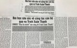 """Giải Búa liềm vàng: """"Nóng"""" từ vụ Quỳnh Anh đến Trịnh Xuân Thanh"""