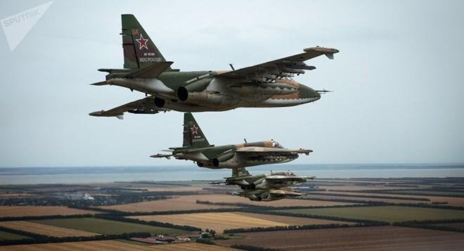 Máy bay chiến đấu Su-25 của Nga. (Nguồn: Sputnik)