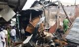 Cháy chợ tại Cà Mau, 2 người tử vong