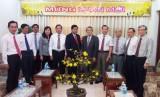Lãnh đạo tỉnh thăm, chúc Tết các tổ chức tôn giáo tại TP.HCM và Tây Ninh