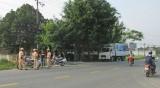 Bến Lức: Tập trung cao điểm bảo đảm an toàn giao thông dịp tết