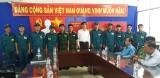 Đức Hòa: Thành lập chốt dân quân thường trực tại KCN đầu tiên của tỉnh