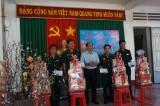 Đoàn lãnh đạo tỉnh Long An đến thăm và chúc Tết cán bộ, chiến sĩ các Đồn Biên phòng