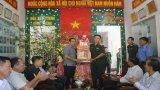 Lãnh đạo tỉnh Long An chúc Tết lực lượng vũ trang tại Tân Hưng