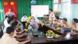 Chủ tịch UBND tỉnh chúc tết lực lượng làm nhiệm vụ bảo đảm an ninh, trật tự, an toàn giao thông dịp tết