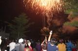 Hàng ngàn người đổ về xem bắn pháo hoa tại huyện Cần Đước