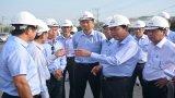 Chủ tịch UBND tỉnh - Trần Văn Cần thăm và chúc tết công nhân, nông dân, doanh nghiệp đầu xuân