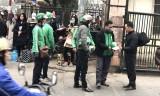 Xe ôm GrabBike 'nhái' tràn lan Hà Nội