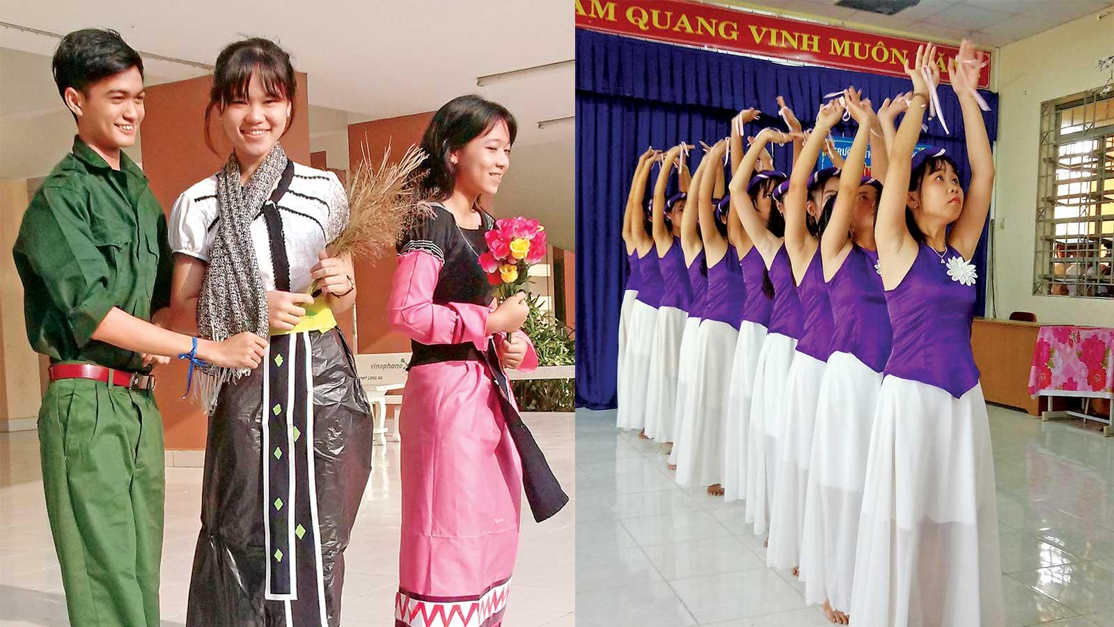 Hoạt động sân khấu hóa tác phẩm văn học của Trường THPT Chuyên Long An