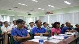 Gần 40 nhân viên phụ trách môi trường dự tập huấn xử lý nước thải công nghiệp