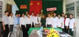 Thăm, chúc mừng đội ngũ y, bác sĩ các đơn vị biên giới tỉnh Long An