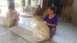 Làng nghề truyền thống đan cần xé tại Đức Hòa