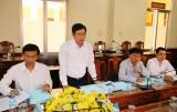 Kiểm tra việc thực hiện chỉ đạo của UBND tỉnh, Chủ tịch UBND tỉnh tại huyện Bến Lức