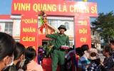 Châu Thành: 129 thanh niên lên đường nhập ngũ
