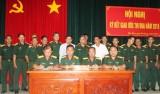 Khối quân sự địa phương ký kết giao ước thi đua năm 2018