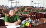 Công an tỉnh Long An tuyển 10/70 công dân thực hiện nghĩa vụ
