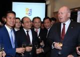 Thủ tướng và Toàn Quyền Australia dự tiệc 45 năm lập quan hệ hai nước