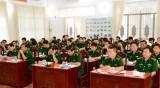 Bộ đội Biên phòng Long An rút kinh nghiệm trong công tác giáo dục, quản lý kỷ luật và bảo đảm an toàn
