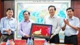 Đoàn công tác tỉnh Long An thăm và làm việc tại tỉnh Quảng Ngãi