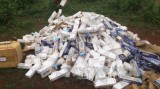 2 tháng, thu giữ gần 520 ngàn gói thuốc lá ngoại
