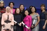 Tiến sỹ Nguyễn Thị Hiệp nhận giải Tài năng trẻ quốc tế tại Paris
