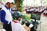 Gần 500 học sinh tham gia chương trình An toàn giao thông cho nụ cười ngày mai
