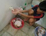 Xã Tân Lập gần 20 hộ dân lại thiếu nước