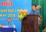 Ông Nguyễn Ngọc Thiện tái cử chức danh Chủ tịch Công đoàn ngành Giáo dục nhiệm kỳ 2018-2023