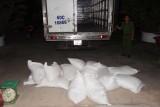 Bắt xe ôtô tải chở 23.480 bao thuốc lá ngoại nhập lậu