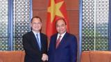 Thủ tướng Nguyễn Xuân Phúc tiếp Chủ tịch Tập đoàn Sunwah, Hong Kong