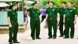 Bộ Tư lệnh Bộ đội Biên phòng kiểm tra công tác chống buôn lậu