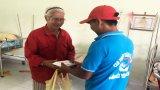 Trao 400 suất cơm cho trại viên Trung tâm Bảo trợ xã hội Long An