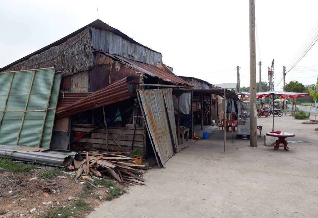 Thái Trị còn 129 nhà tạm