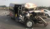 Tai nạn liên hoàn trên cao tốc TP HCM-Long Thành-Dầu Giây